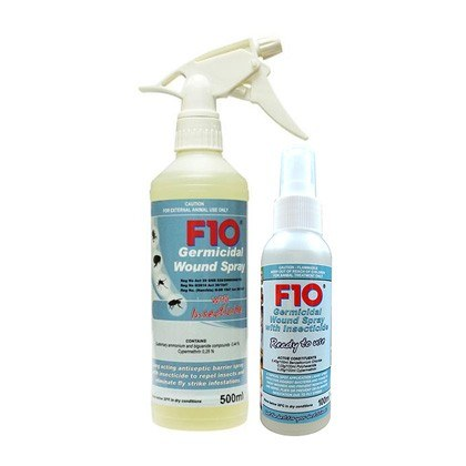 F10 Germicidal Wound Spray with Insecticide
