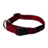 ROGZ Reflective Stitching Red Dog Collar