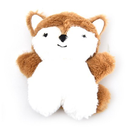 Dog Days Fox Plush Toy With Squeaker