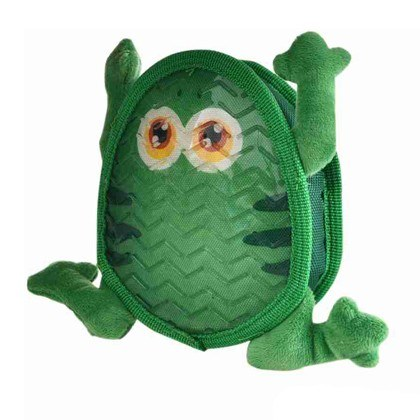 Dog Days Frog TPR Plush Toy With Squeaker