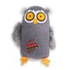 Dog Days Owl Plush Toy With Squeaker