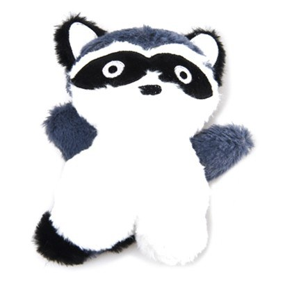 Dog Days Racoon Plush Toy With Squeaker