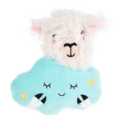Dog Days Sheep On a Cloud Plush Toy With Squeaker