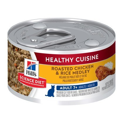 Hills Science Plan Mature Adult Chicken and Rice Wet Cat Food