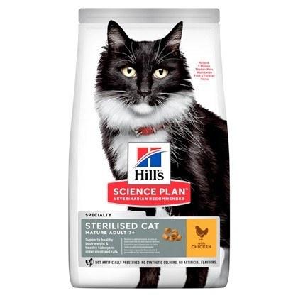Hills Science Plan Sterilised Cat Mature Adult Chicken Dry Cat Food
