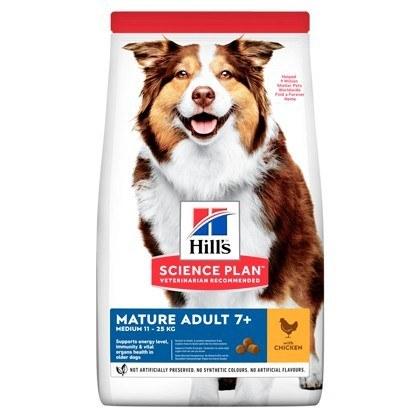 Hills Science Plan Youthful Mature Medium Chicken Dog Food
