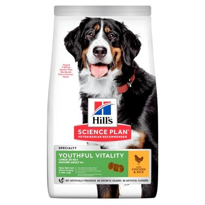 Hills Science Plan Youthful Vitality Large Breed Lamb and Rice Dry Dog Food
