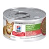 Hills Science Plan Youthful Vitality Salmon and Vegetable Wet Cat Food