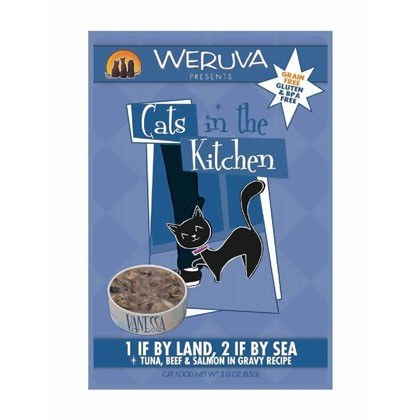 WERUVA 1 If By Land 2 If By Sea Wet Cat Food