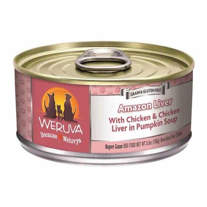 WERUVA AMAZON LIVER Wet Dog Food