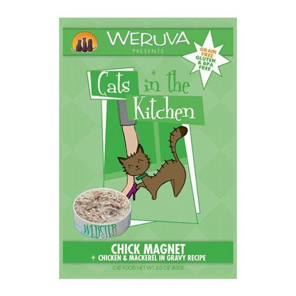WERUVA Chick Magnet Wet Cat Food