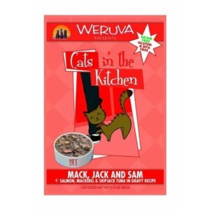 WERUVA Mack Jack & Sam Wet Cat Food