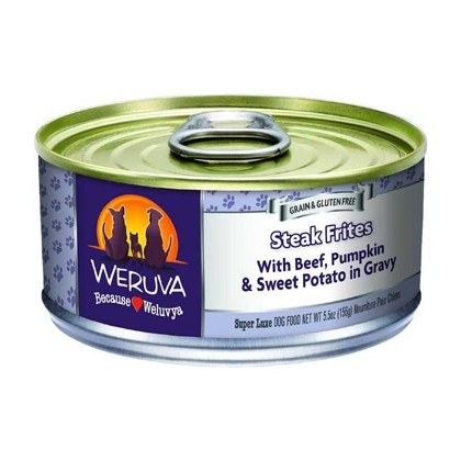 WERUVA STEAK FRITES Wet Dog Food