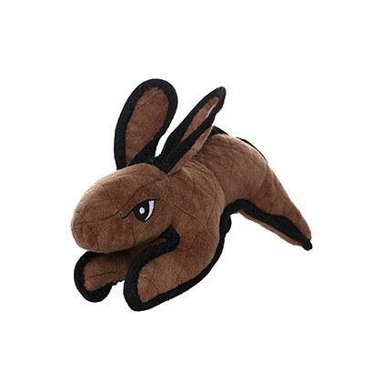 Tuffy Barnyard Rabbit Brown Dog Toy