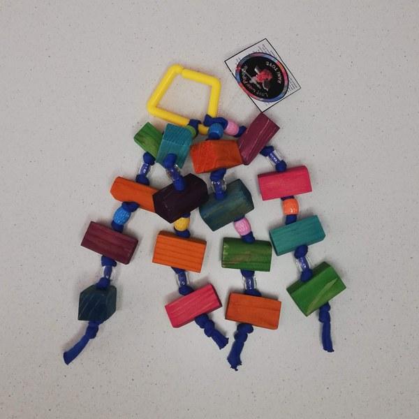 Rani Toys Multi Blocks Avian Parrot Toy