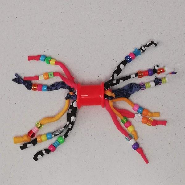 Rani Toys Tolletjie Foot Avian Parrot Toy