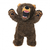 Mighty Angry Animals Bear Dog Toy